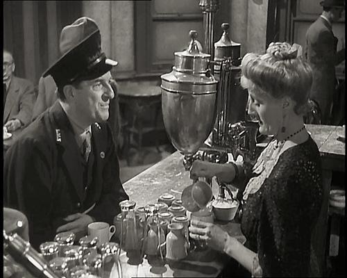 Stanley Holloway and Joyce Carey