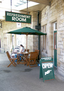 The Refreshment Room at Carnforth Station